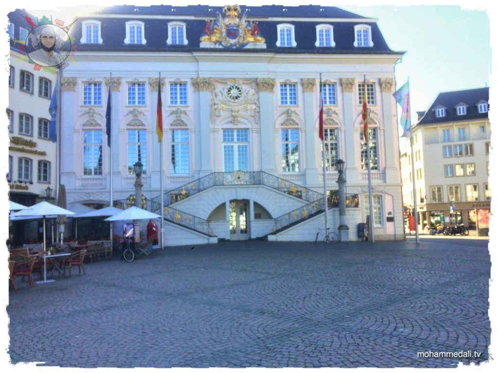 The old town (Altes Rathaus) in the city of Bonn