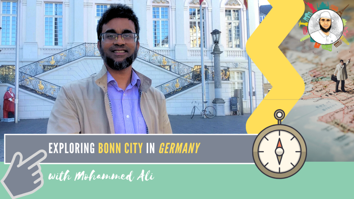 Bonn city in the summer days  | Bonn Tour | Mohammed Ali