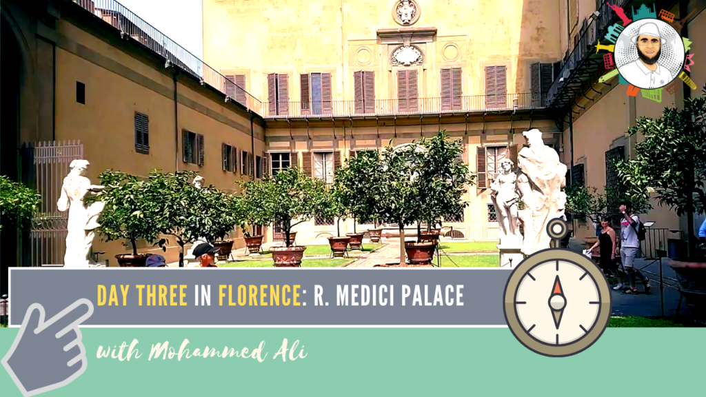 Riccardi Medici Palace | Visit Florence in 3 Days | Italy Tour with Mohammed Ali | 085